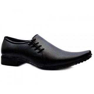 Men's Faux Leather Formal Shoes Black