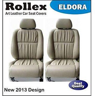 Alto 800 (Latest) - Art Leather Car Seat Covers - Rollex - Eldora - Gray