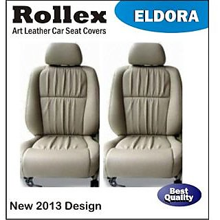 Polo - Art Leather Car Seat Covers - Rollex - Eldora - Gray