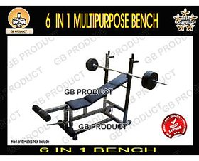 6 in 1 Bench Multipurpose ( GB PRODUCT )