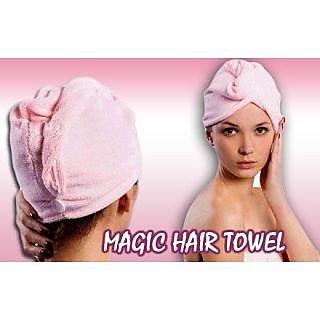 Magic Hair-drying Women Towel Cap Bath Lady's Hat Towel