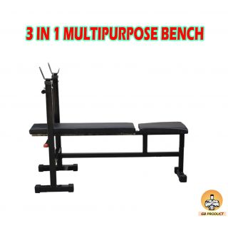 body maxx multi bench 3 in 1 flat incline decline bench buy online