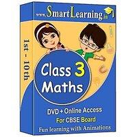 Smartlearning.in CBSE Class 3rd Maths (DVD + Online Acc