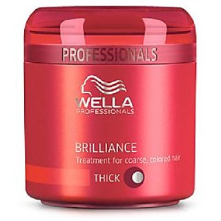 Wella Brilliance Treatment Fine To Normal Colored Hair Fine Normal