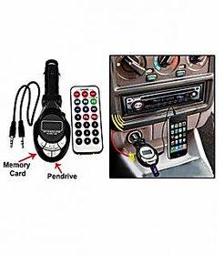 Car Mp3 FM Modulator Transmitter FM modulator