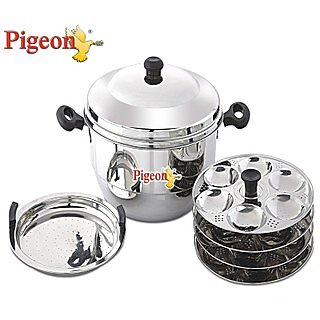 Pigeon Idly Pot With Steamer-Hot 24