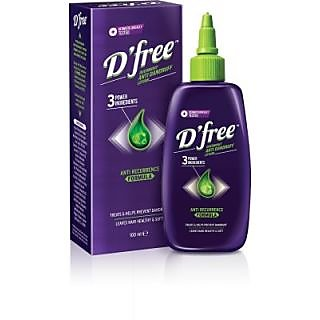 Dfree Anti Dandruff Lotion With Anti Recurrence Formula (100 ml)