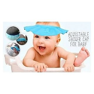 bcebd3ffc Kids Baby Shower Cap Eye Safety Cap Bath Hat Wash Hair Shield