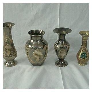 Steel Flower Vase