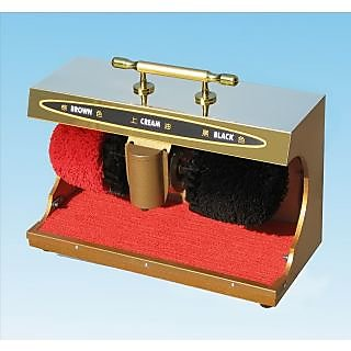 Dynamics Shoe Polish Machine ( BIGGER S S FINISH model Golden COLOUR)