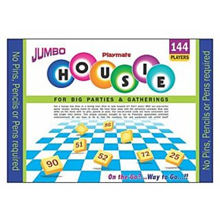 Playmate Housie Game Jumbo 144 For Parties and Gatherings