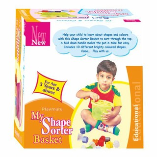 Playmate My Shape Sorter Basket