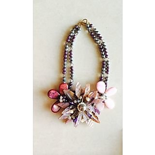Royal Luxe Statement  Floral Necklace