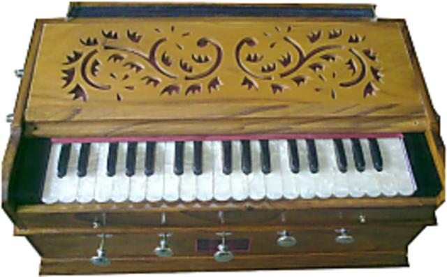 Calcutta Musical Depot Wooden Harmonium