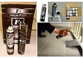 F1 Chrome Spray Paint