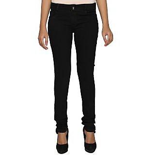 RAMP Womens Black Lycra Jeans