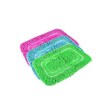 FABBIG Multicolour Shaggy Floor Mats( set of 3)