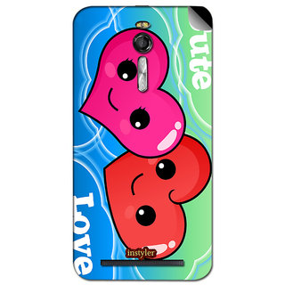Instyler Mobile Skin Sticker For Asus Zenfone 2 Ze 550 Ml MSASUSZE550MLDS-10125 CM-7805