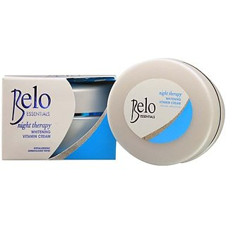 Belo Skin Whitening Herbal Night Cream With Kojic Acid (50 g)
