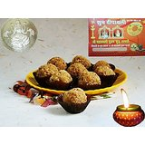Pure Ghee Healthy Oats Dry Fruit Ladoo Diwali Gift