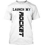 Launch My Rocket Tshirt For Men/Boys, In Round Collar