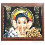 Baala Ganapathi Tanjore Paintings