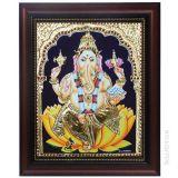 Maha Ganapathi Tanjore Paintings