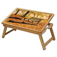 Multipurpose Foldable Wooden Study Table (207)