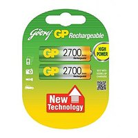 GODREJ GP AA 2700 MAH RECHARGEABLE BATTERIES