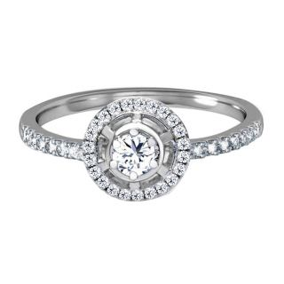 Charm Capture Silver Ring