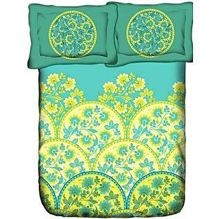 Weaves Super King Size Secret Garden Bedsheet