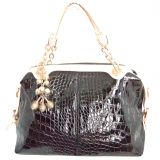 Via Mazzini Jet Set Top Zip Tote