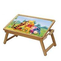 Multipurpose Foldable Wooden Study Table For Kids LP00502