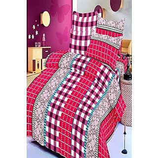 Sim King Cotton Printed Bedsheet (Sim_king_105)
