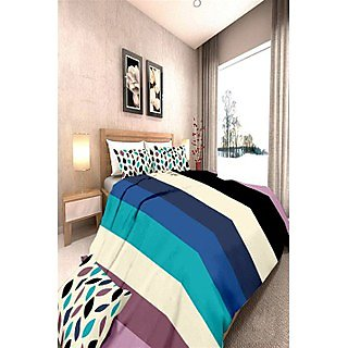 Sim King Cotton Printed Bedsheet (sim_mix_104)