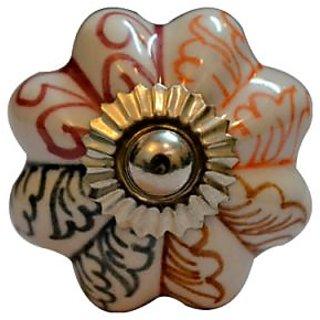 Multicolour Drawer Ceramic Knob