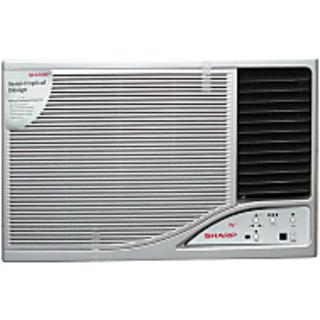 Sharp 1 5 ton 2 star afa 18 window air conditioner for 2 ton window air conditioner