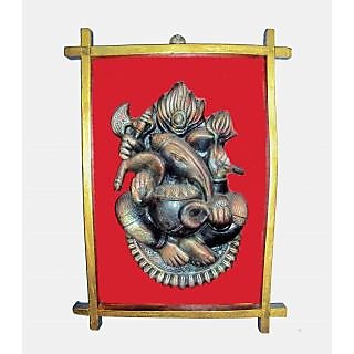 Terracotta Ganesh Wall Hanging