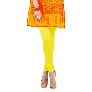 Yellow(Bright)Leggings by Fashion & Filly
