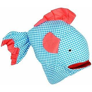 Stuffed Puppet Fish - Blue