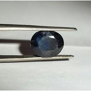 Natural Blue Sapphire(Neelam) 6.69cts.(7.50)ratti LAB CERTIFIED