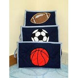 Little Pipal Sports Toiletry Kit Set - Set Of 3 Blue