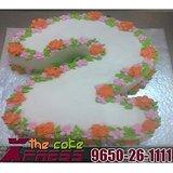 Two Number Cake-Delhi NCR