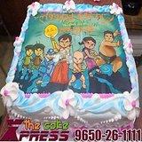 3 Kg Chota Bheem Photo Cake-Delhi NCR