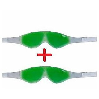 SNR 2pcs Cool Eye Mask With Aloe Vera Based Cooling Gel