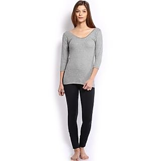Oswal Ladies Gray Top