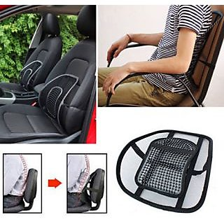 SNR New Comfortable Mesh Ventilate Car Seat Office Chair Massage Back Lumbar Support