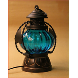 Electric Lamp T- Lite Holder Home Décor Decorative  Table Lamp Hanging Lantern Stand Tea Light Gift Item