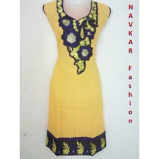 Cotton Kurties HD1010 Yello (XL)