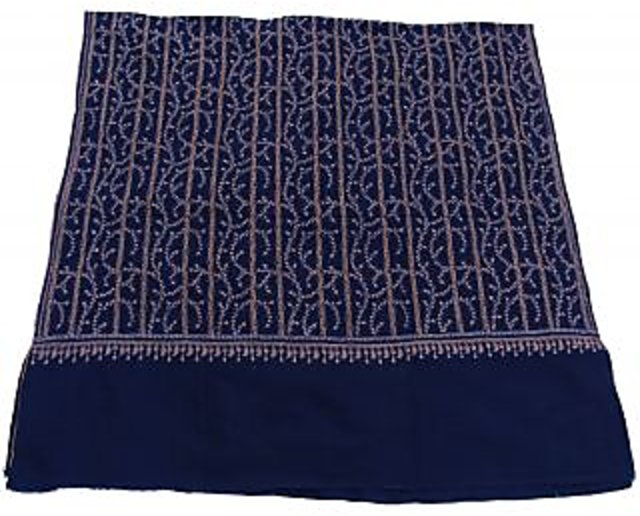 Online 100 Pure Kashmir Pashmina Hand Embroidered Shawl Prices Shopclues India